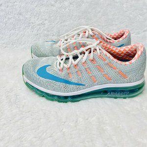 Nike Air Max 2016 N7 W 9 Running Shoes White Mango